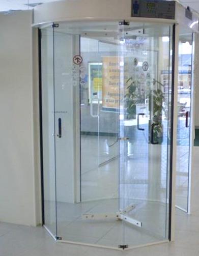 Porta Giratória Roma